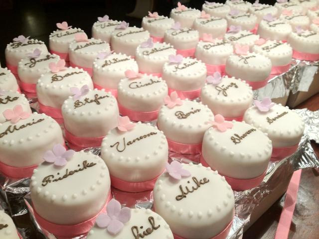 Cupcake Namensschilder