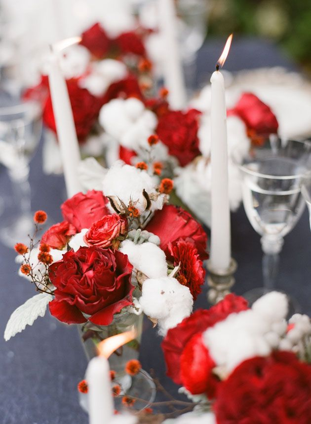 tischdeko rot weiss rosen hochzeit weihnachten mademoiselle no more. Black Bedroom Furniture Sets. Home Design Ideas