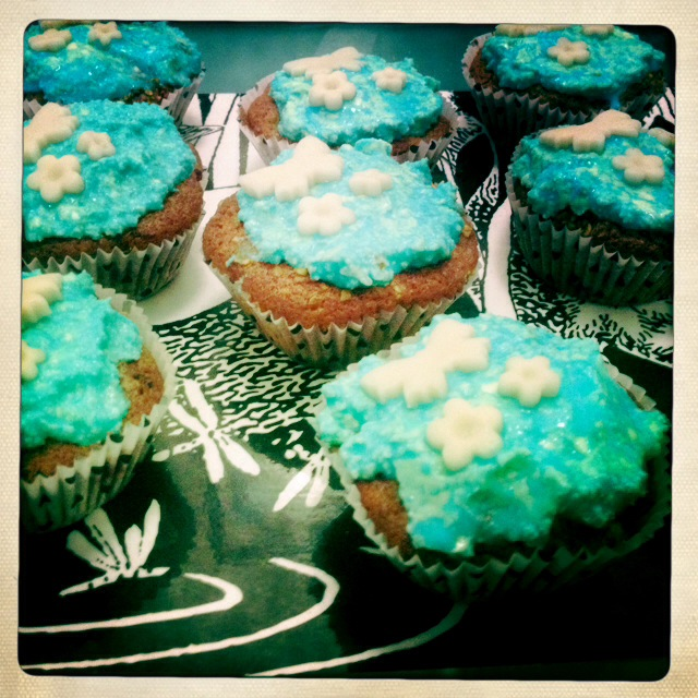 Cupcakes laktosefrei Himbeer Vanille