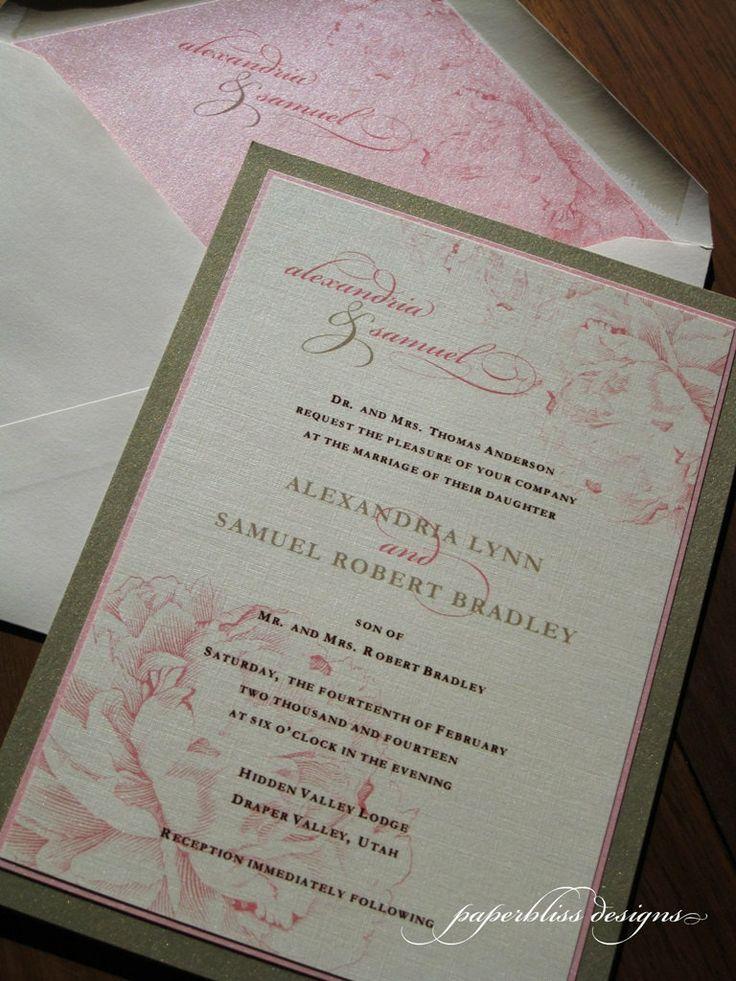 Hochzeitseinladung Pfingstrosen Rosa Grau Hochzeitsblog Schweiz