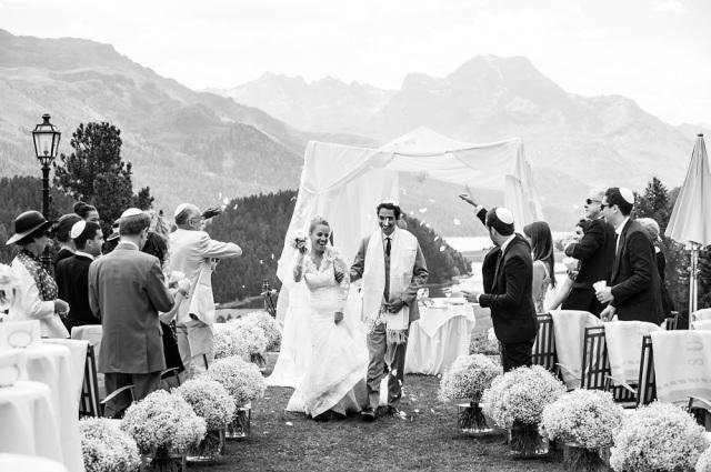 Hochzeit St. Moritz Suvretta Zeremonie Outdoor 2
