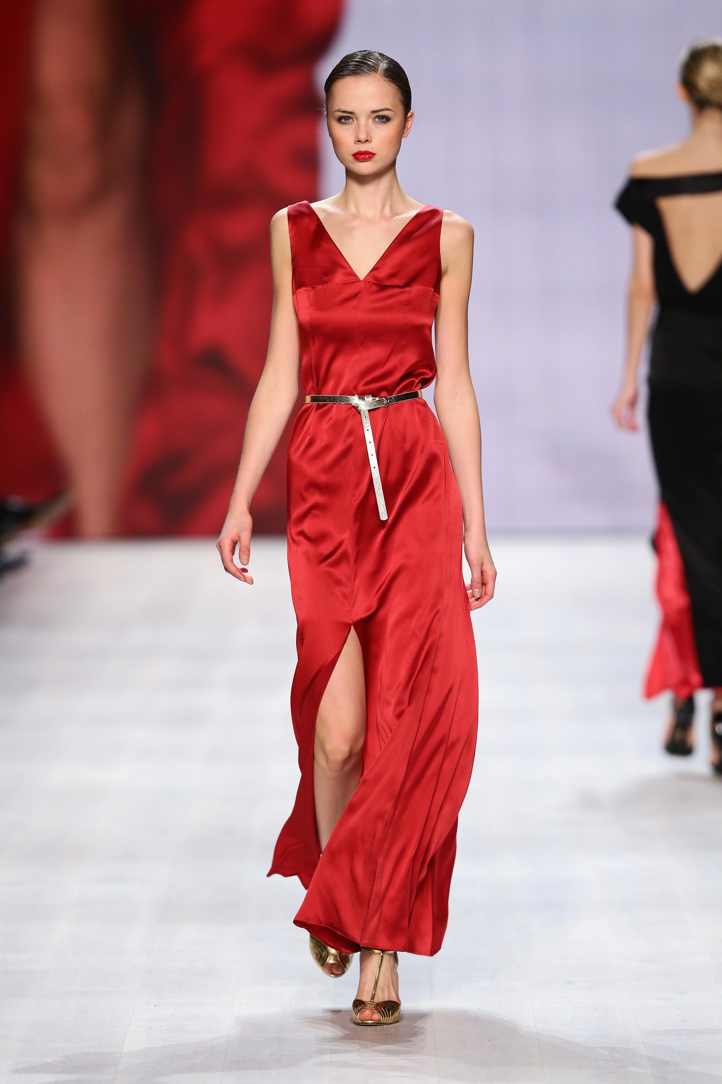 3b08ada5d9462 Aziza Zina - Mercedes-Benz Fashion Days Zurich 2014