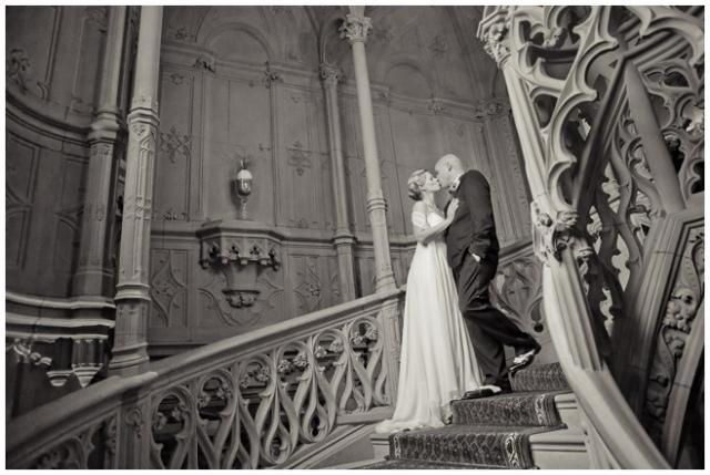 Vintage-Brautpaar