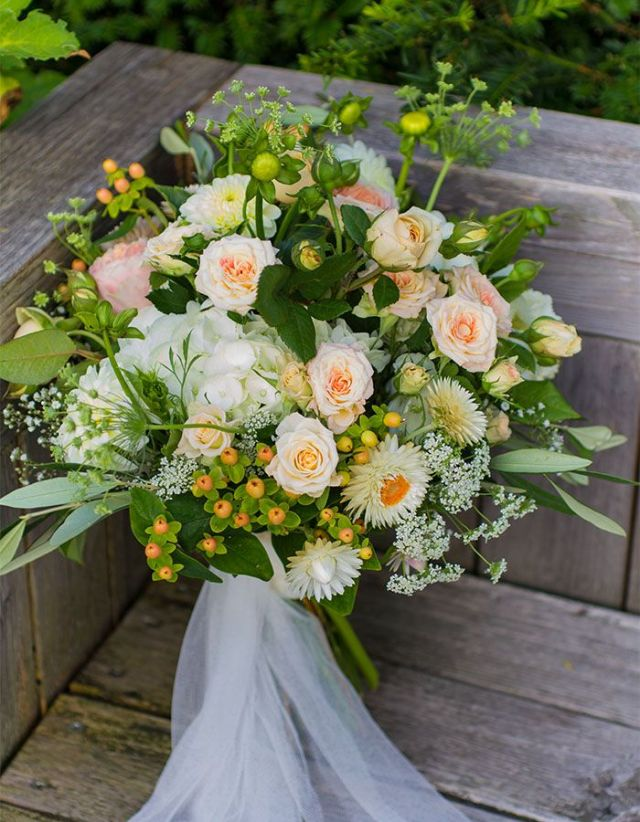Brautstrauss des Monats Juli 2