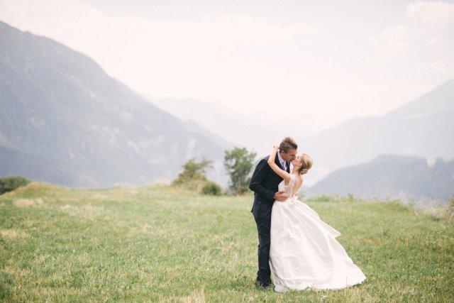 Eine klassische Hochzeit in der Lenzerheide
