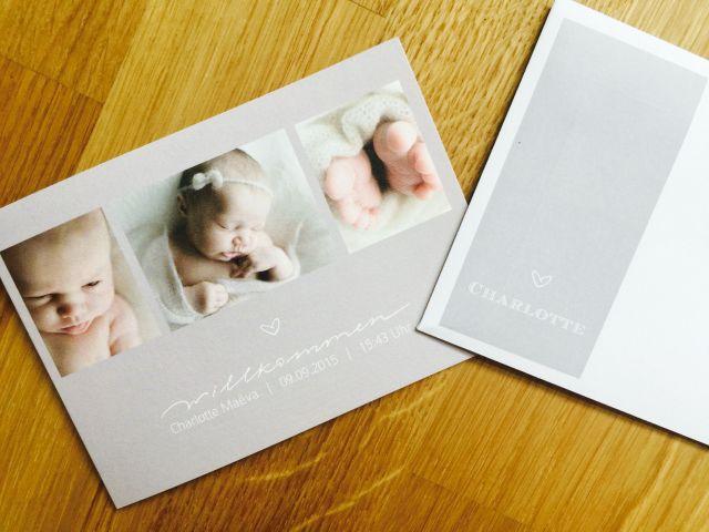Geburtskarte sendmoments 1