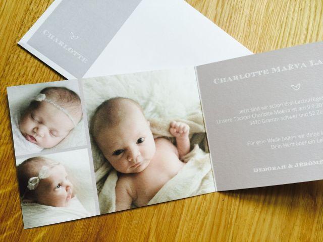 Geburtskarte sendmoments 2