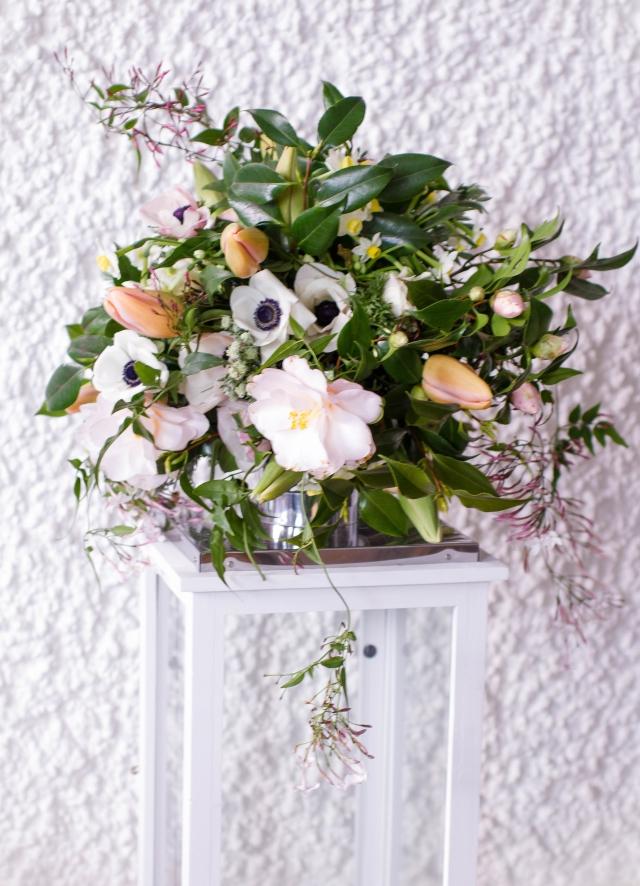 Brautstrauss Maerz English Rosarium 1
