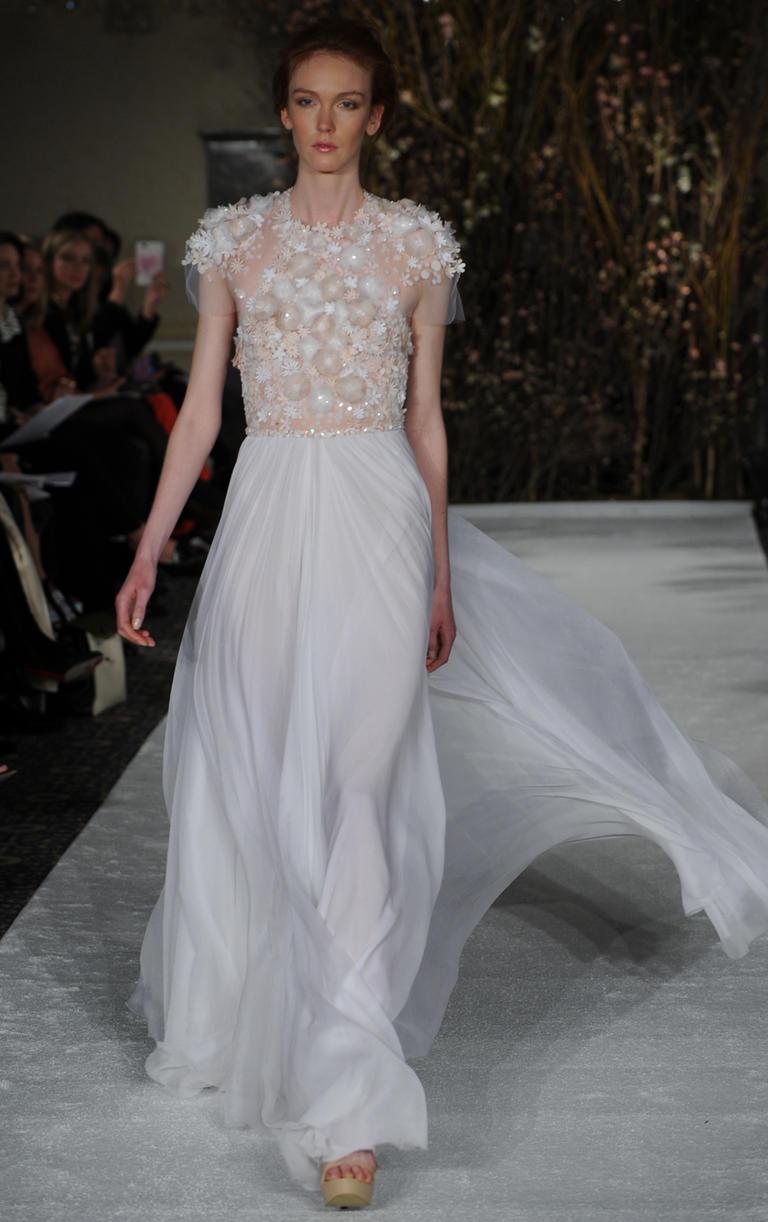 Die neusten Brautkleid-Trends aus New York | Hochzeitsblog - Schweiz